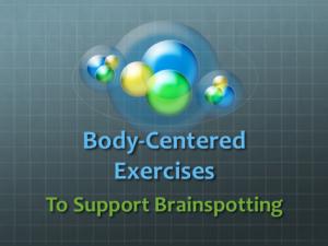 Body-Centered Exercises